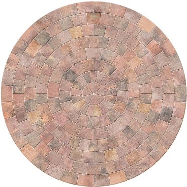 Marshalls Drivesett Tegula Circle Traditional