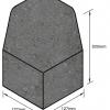 Keykerb-Half-Battered-External-Angle-Charcoal