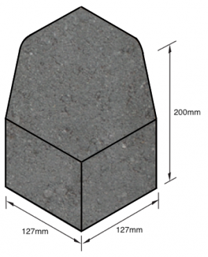 Keykerb-Half-Battered-External-Angle-Charcoal