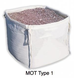 bulk bag of MOT type 1