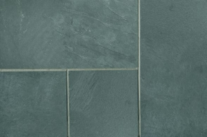 close up of natural slate in blue colour