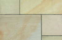 Marshalls Sawn Sandstone Autumn Bronze Multi