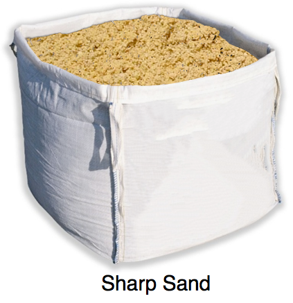 bulk bag of sharp sand