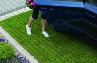 Marshalls Grassguard & Drivegrid permeable grid
