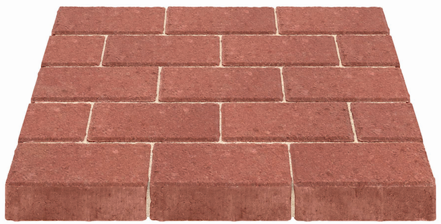Marshalls Standard Block Paving Red