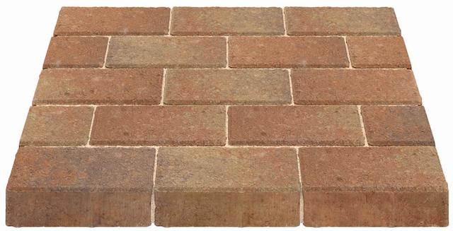 Marshalls Standard Block Paving Bracken