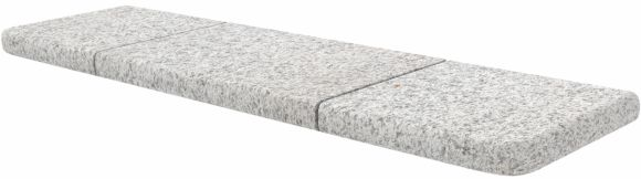 Marshalls Granite Eclipse Bullnose Steps Light