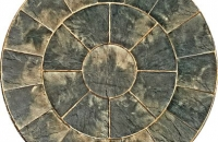 Marshalls Heritage Paving 2 Ring Circle Old Yorkstone