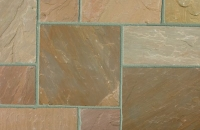 Marshalls Indian Sandstone Brown Multi