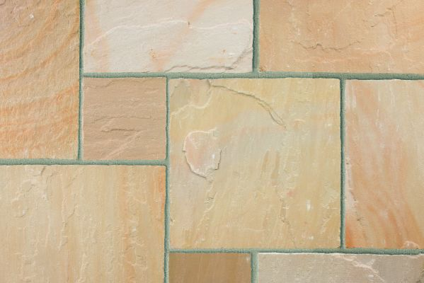 Marshalls Indian Sandstone Buff Multi