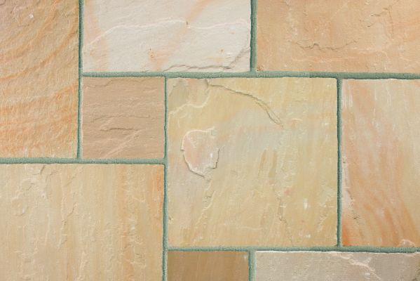 Marshalls Indian Sandstone Buff Multi