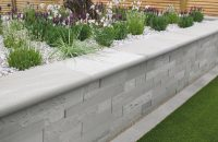 Stonefaced Textured walling