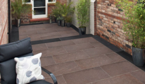 Marshalls Symphony Vitrified Paving Natural installed